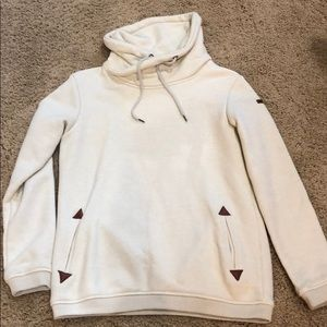 Roxy hooded sweatshirt women's S like new